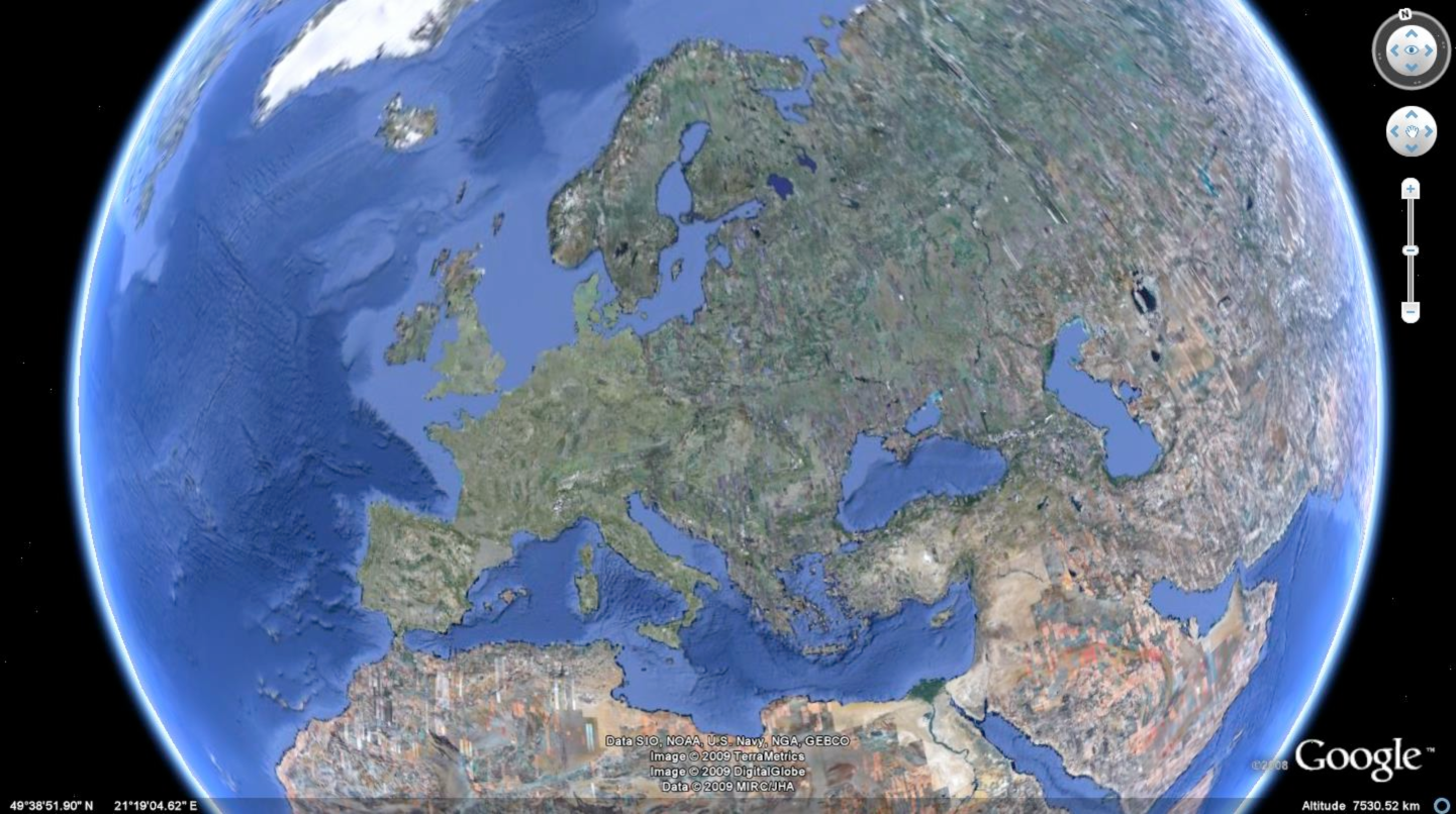 European borders europe google earth gumiabroncs Image collections