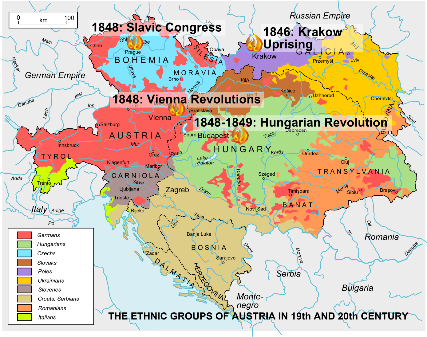 The Spring Of Nations And Birth Of Europe Of Nations