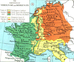 The partitions of Verdun 843 and Mersen 870