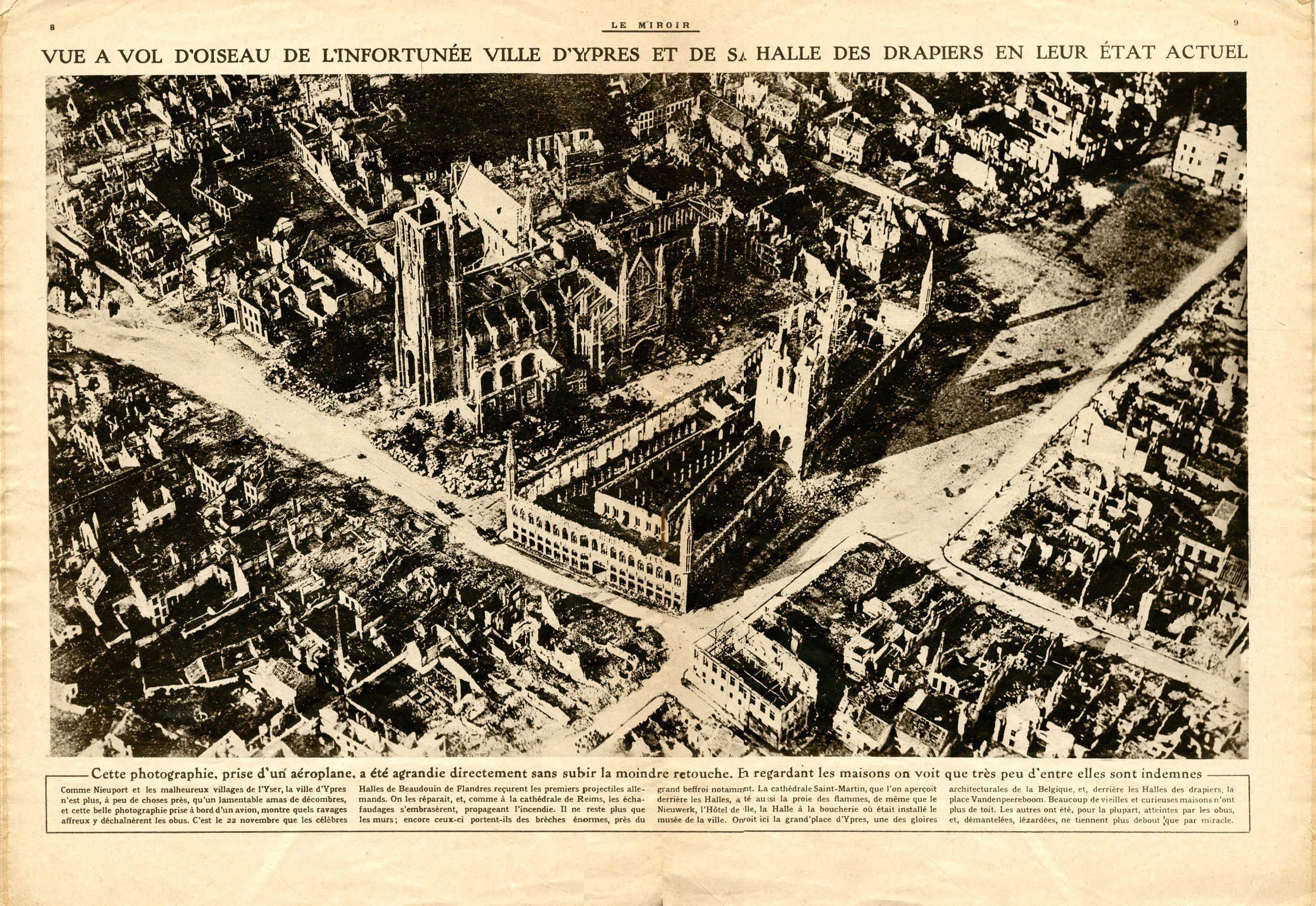 Montrer la guerre la presse illustr e entre propagande et for Piscine ypres photo